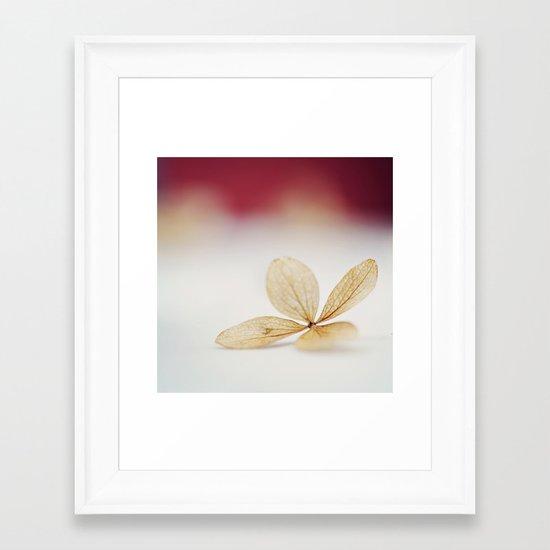 Sheer Framed Art Print