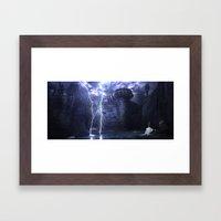Alien Thunder  Framed Art Print