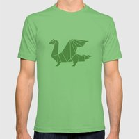 Draconis Mens Fitted Tee Grass SMALL