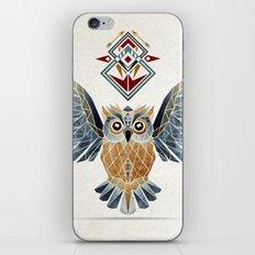 owl winter iPhone & iPod Skin