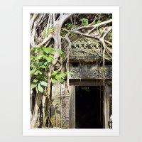 Angkor Wat Tomb Raider E… Art Print