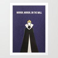 Disney Villain - Evil Qu… Art Print