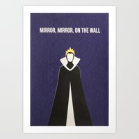 Disney Villain - Evil Queen Art Print
