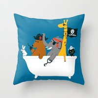 Everybody Wants To Be Th… Throw Pillow