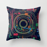 chaos vs order - the labyrinth within v2 Throw Pillow