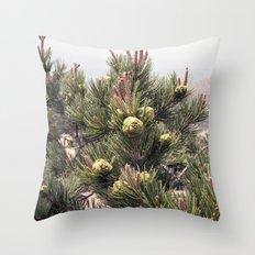 TREELINE Throw Pillow