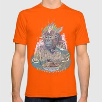 Ceremony Mens Fitted Tee Orange SMALL