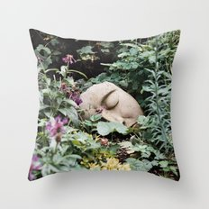 Resting Intuition Throw Pillow