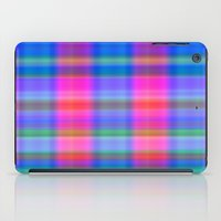Misty Plaid  iPad Case