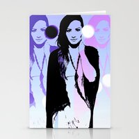 Demi L Stationery Cards