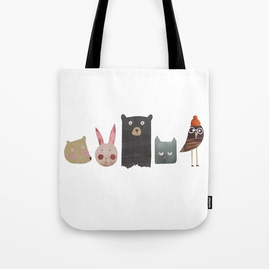 Animal love Tote Bag