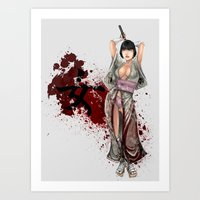 Kunoichi 1 of 4 Art Print