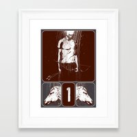 and he rode out as a conqueror bent on conquest Framed Art Print