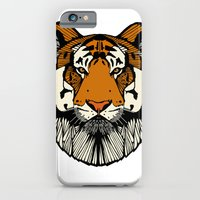 iPhone & iPod Case featuring Tiger by Clare Corfield Carr