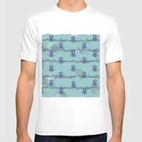 Octopus's garden Mens Fitted Tee White SMALL