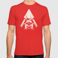 Jolly Kraken Mens Fitted Tee Red SMALL