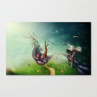 Freedom Fields Canvas Print