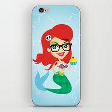 Hipster Mermaid iPhone & iPod Skin