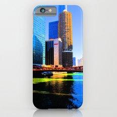 Clark St. Bridge, Chicago (Pop) iPhone 6s Slim Case