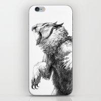 Owlbear iPhone & iPod Skin