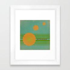 Stereolab (ANALOG zine) Framed Art Print