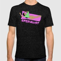 Specialist  Mens Fitted Tee Tri-Black SMALL