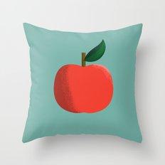 Apple 01 Throw Pillow