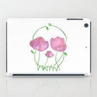 Tulip Skull iPad Case
