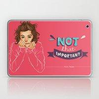 Not That Important Laptop & iPad Skin