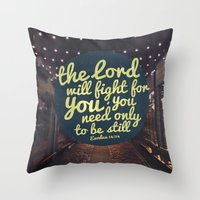 FIGHT FOR YOU Throw Pillow