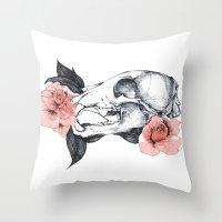 Life&Death Throw Pillow