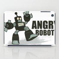 Angry Robot iPad Case
