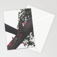 Wooden & Flowers Stationery Cards