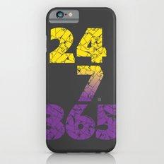 24-7/365 (Purple hustle) Slim Case iPhone 6s