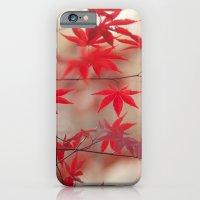 Cream and Red iPhone 6 Slim Case