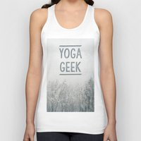 Yoga Geek Unisex Tank Top