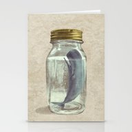 Stationery Cards featuring Extinction by Terry Fan