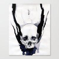 DEATH COOCH Canvas Print