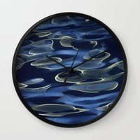 Water / H2O #8 (Water Abstract) Wall Clock