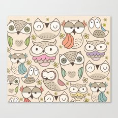 The Owling Canvas Print