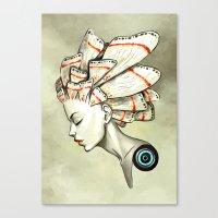 Moth 2 Canvas Print