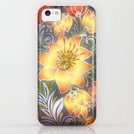 Shabby Flowers #3 iPhone 5c Slim Case