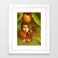 Last Apple This Summer Framed Art Print