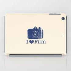 I ♥ Film (Blue/Peach) iPad Case