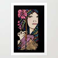 Tribal Artist Art Print