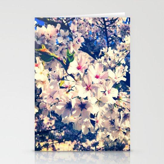 Cherry Blossom Stationery Card