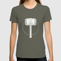 THOR! Womens Fitted Tee Lieutenant SMALL