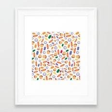 BP 70 Fast Food Framed Art Print
