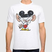 Brain Of Animaniacs : Ca… Mens Fitted Tee Ash Grey SMALL