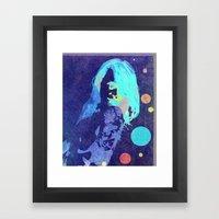 Drawn Beauty Framed Art Print